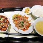 chuugokusaife-vu - セレクトランチは麻婆豆腐+もう一品選択900円('18.6月下旬)
