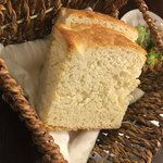 チェントアンニ - ランチおかわりできるパン