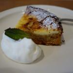 ラス ルセス - 料理写真:レモンのチーズケーキ風タルト