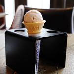 bistro BARNYARD - オレンジのアイス