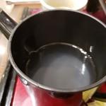 三宝庵 - 蕎麦湯