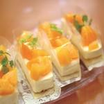 オランダ屋 - 夏のすっきりオレンジムース