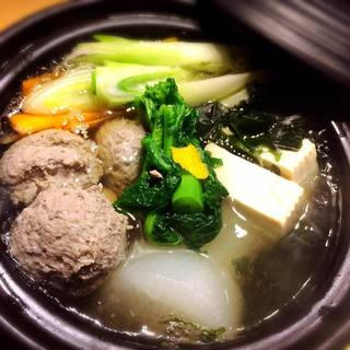 夜ノ森名物土鍋おでんと、出汁料理