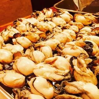 三陸牡蠣ブランド新昌を使った料理の数々・三陸直送海鮮料理