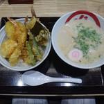天丼・らぁ麺 ハゲ天 - 天丼とらぁ麺