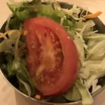 ビストロひつじや - ランチのサラダ