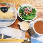 ブレッド&コーヒー イケダヤマ - ランチサラダセット