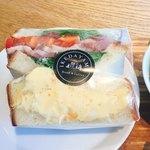 ブレッド&コーヒー イケダヤマ - サンドイッチ