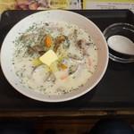 あさり屋 - クラムチャウダーらーめん(細麺)