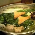 ちゃんこ料理安芸の国 - 塩ちゃんこ鍋
