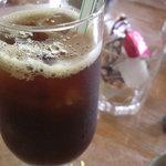 神鍋山荘 和楽 - アイスコーヒー