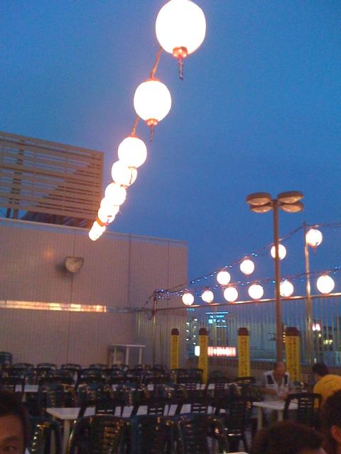 JRホテルクレメント徳島 ビアガーデン