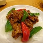 88231670 - 国産ヒレ肉の黒酢酢豚1200円