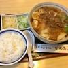 かめ壽 - 料理写真:きしめん 650円(ライス付き)