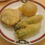 中国料理 桃花林 - 季節野菜の衣揚げ