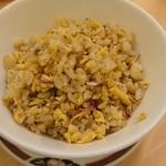 中国料理 桃花林 - 梅としらすの炒飯