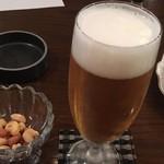 炭火焼珈琲ツノハズ - 生ビール