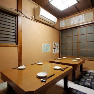 まるで昭和の一軒家居酒屋◎落ち着いた雰囲気でホッと一息ついて