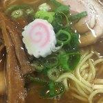 醤武屋 - 醤油そば(´∀`*) メンマ コリっとイイ