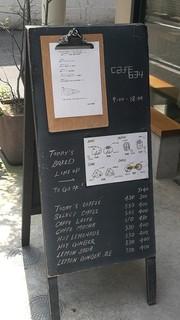 cafe634 - 店頭案内板