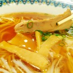 ドライブイン旭川 - 味の染みたチャーシューは美味!