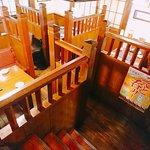 宴屋 とんぼ  - 半地下になる1階テーブル席