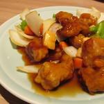 富貴亭 - 酢豚