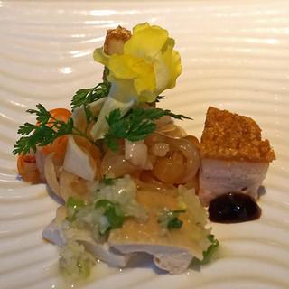 中国飯店 - 料理写真:中国飯店式前菜の盛り合わせ