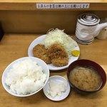 とんかつ いちよし - ひれかつ定食('18/06/26)