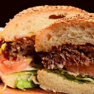 ◇Hamburger◇自家製バーガーが人気☆種類充実!