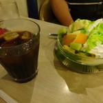 マヅラ喫茶店 - 冷コー &チョコサンデー