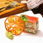 ビストロ カリテプリ - ズワイガニとフレッシュトマトのミルフィーユ