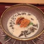 88243812 - 雲丹と豆乳の島原素麺