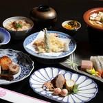 なか安 - 季節の会席コース(6,000円)