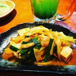 はながさ - 島豆腐の味噌炒め