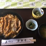 レストラン家族亭 - 料理写真:カツ丼