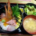 さつま翁 - 海鮮丼