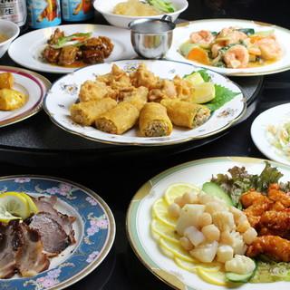 すべてを手作りする。安心安全な中国家庭料理をお楽しみあれ!