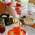 グレーヌ・ド・ポアール - 料理写真:デザートコース(内容は季節により異なります)