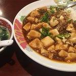 玉華園 - 麻婆丼