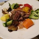 ペンションブルーポピー - メイン 豚肉の赤ワイン煮