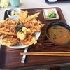 グリル華 - 料理写真:穴子天丼950円(税込)豪華です。(^^)
