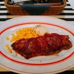 熟成牛ステーキバル Gottie's BEEF - サービスステーキ1000円