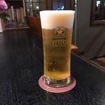 マーシュ亭 - やはりビール