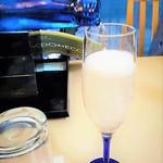 楠公レストハウス - [ドリンク] グラス入り スパークリング清酒 [澪] (はとバス限定)