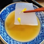 楠公レストハウス - [料理] 刺身コンニャク アップ♪w