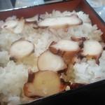 楠公レストハウス - [料理] 与の重 (季節のご飯 春・夏:蛸をあしらった桜飯) 全景♪w