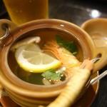 魚真 - 土瓶蒸し