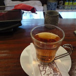 8826037 - セットドリンクにホットウーロン茶を選びました
