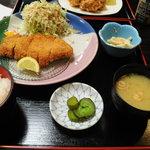 古都 - ロースカツ定食